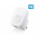 Zyxel WRE2206 WIRELESS N300 RANGE EX (Up to 30 wireless coverage enhanced by power strengthen, WPS button for fast, easy setup o