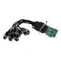 Startech .com 8 Port Native PCI Express RS232 Serial Adapter Card with 16950 UART - Serial adapter - PCIe - RS-232 - 8 ports