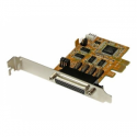 Startech .com 4 Port Native PCI Express RS232 Serial Adapter Card with 16550 UART - Serial adapter - PCIe - RS-232 - 4 ports