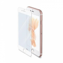 Celly FULL GLASS FOR IPHONE 7 PLUS WHITE