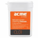 Acme CL01 Delicate screen cleaning tissues, 50 pcs, wet