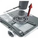 Newstar Beamer/projector wall mount - universal - length: 79-129 cm till 12Kg c:Silver