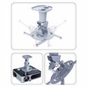 Techly Universal projector ceiling mount 22 cm 10 kg white