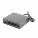 Gembird USB 2.0 internal CF/MD/SM/MS/SDXC/MMC/XD card reader/writer black