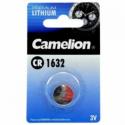 Camelion Lithium Button celles 3V (CR1632), 1-pack