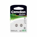 """Camelion Alkaline Button celles 1.5V (AG12) LR43/LR1142/386, 2-pack, """"no mercury"""""""