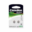 """Camelion Alkaline Button celles 1.5V (AG10) LR54/LR1131/389, 2-pack, """"no mercury"""""""