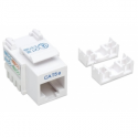 Intellinet Cat5e Keystone Jack, UTP, white