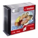 IMATION DVD+R 10-pack 4,7GB 120min 16x printable in slim jewel case