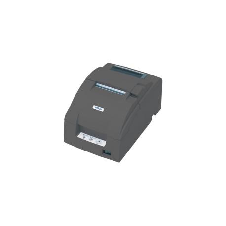 Epson TM U220B - Receipt printer - two-colour (monochrome) - dot-matrix -  Roll (7 6cm) - 17 8 cpi - 9 pin - up to 6 lines/sec - USB - cutter