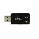 Media Tech VIRTU 5.1 USB, is the perfect 3D Surround sound card for PCs and laptops,