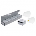 Evolis Plastic cards, re-writable, 100 pcs.