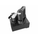 Zebra 2-slot charge/ USB sharecradle