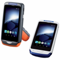 Joya Touch A6, 2D, USB, BT, Wi-Fi, NFC, Gun, blue, grey, Android
