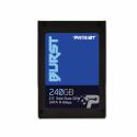 Patriot SSD Burst 240GB 2.5' SATA III read/write 555/500 MBps, 3D NAND Flash
