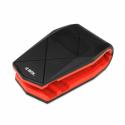 iBOX H4 Alligator Car Holder for Smartphone BLACK-RED