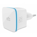 Techly Wireless range extender repeater AP 802.11b/g/n 300N wall-plug