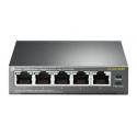 TP-LINK Switch | TP-LINK | Desktop/pedestal | 5x10Base-T / 100Base-TX / 1000Base-T | PoE ports 4 | TL-SG1005P