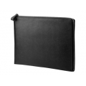 HP Elite 12.5inch Blk Leather Sleeve