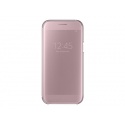 SAMSUNG Clear View Cover for Galaxy A5 (2017) pink