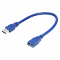 Gembird USB 3.0 extension A-plug A-socket cable 0.15m