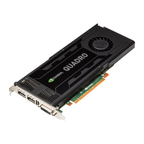 NVIDIA Quadro K4000M - Graphics card - Quadro K4000M - 3 GB GDDR5 - MXM 3 0  Type B - for ProLiant ML350p Gen8, WS460c Gen8