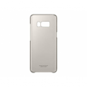 SAMSUNG Galaxy S8 Transparent Back Cover Gold