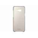 SAMSUNG Galaxy S8+ Transparent Back Cover Gold