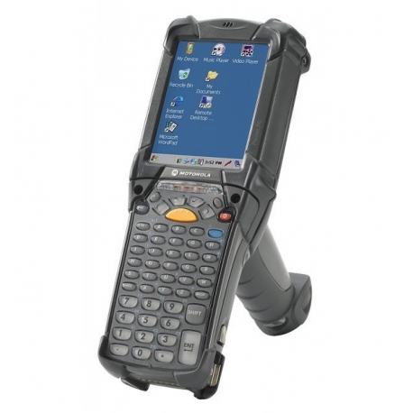 Zebra MC9200 Standard, 2D, SR, BT, Wi-Fi, Gun, disp., IST, WEC 7