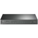 TP-Link T1500G-10PS 8-Port Gigabit Desktop PoE Switch with 2 Combo SFP Slots