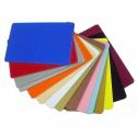 Evolis plastic card, 100 pcs., yellow