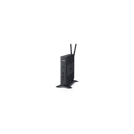 Dell Wyse 5010 - Thin client - DTS - 1 x G-T48E 1 4 GHz - RAM 4 GB - flash  16 GB - Radeon HD 6250 - GigE - Win Embedded Standard 7 - monitor: none -