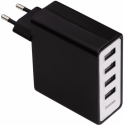 Hama USB Power Charger with Four Ports 5V/5.1A