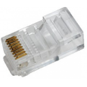 LOGILINK -  RJ45 Modular Plug for flat cable, unshielded