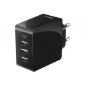 TRUST MOBILE CHARGER WALL FAST 24W/4 USB-C & USB-A  22029