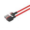 Unitek L-Shape USB - Lightning Cable, 1.0m, red; C4047RD