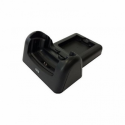 BK10 Charge/Serial cradle in a vehicle