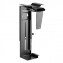 LOGILINK - Adjustable under desk and wall CPU mount, rotatable