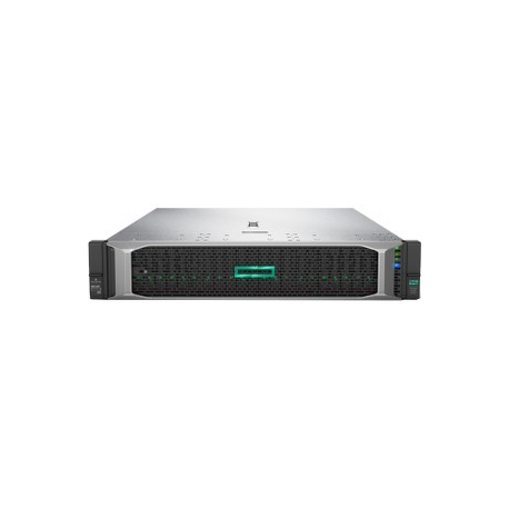 HPE ProLiant DL380 Gen10 Performance - Server - rack-mountable - 2U - 2-way  - 1 x Xeon Silver 4110 / 2 1 GHz - RAM 16 GB - SAS - hot-swap 2 5