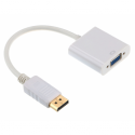 Gembird adapter displayport 1.1->VGA, on cable, white, blister