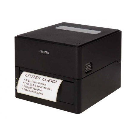 Citizen CL-E300, 8 dots/mm (203 dpi), USB, RS232, Ethernet