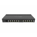 MikroTik RB4011iGS+RM Router 10/100/1000 Mbit/s, Ethernet LAN (RJ-45) ports 10, USB ports quantity 1, 1, RouterOS (Level 5)