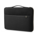 HP 17 Blk/Gold Carry Sleeve Europe
