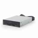 Gembird USB internal card reader/writer with 2.5 SATA port, black