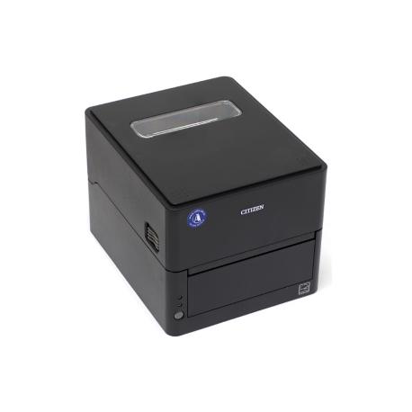 Citizen CL-E303, 12 dots/mm (300 dpi), cutter, USB, RS232, Ethernet, black