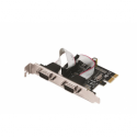 i-Tec PCI Express Card with two RS232 serial ports MOSCHIP MCS9901 chip
