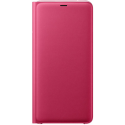 SAMSUNG Wallet Cover A9 2018 Pink