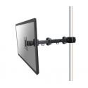 "NewStar Flat Screen Pole Clamp/Truss Mount (diameter 35-60 mm), 10-32"", c:Black"
