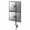 "NewStar Flat Screen Desk Mount (clamp), 10-32"", 2 screens, c:Black"