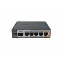 MikroTik hEX S RB760iGS 10/100/1000 Mbit/s, Ethernet LAN (RJ-45) ports 5, USB ports quantity 1